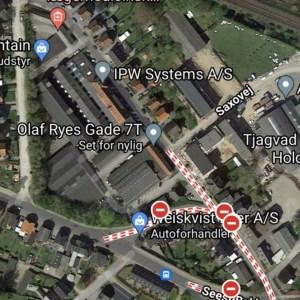 Maps - Oluf Ryes gade 7t